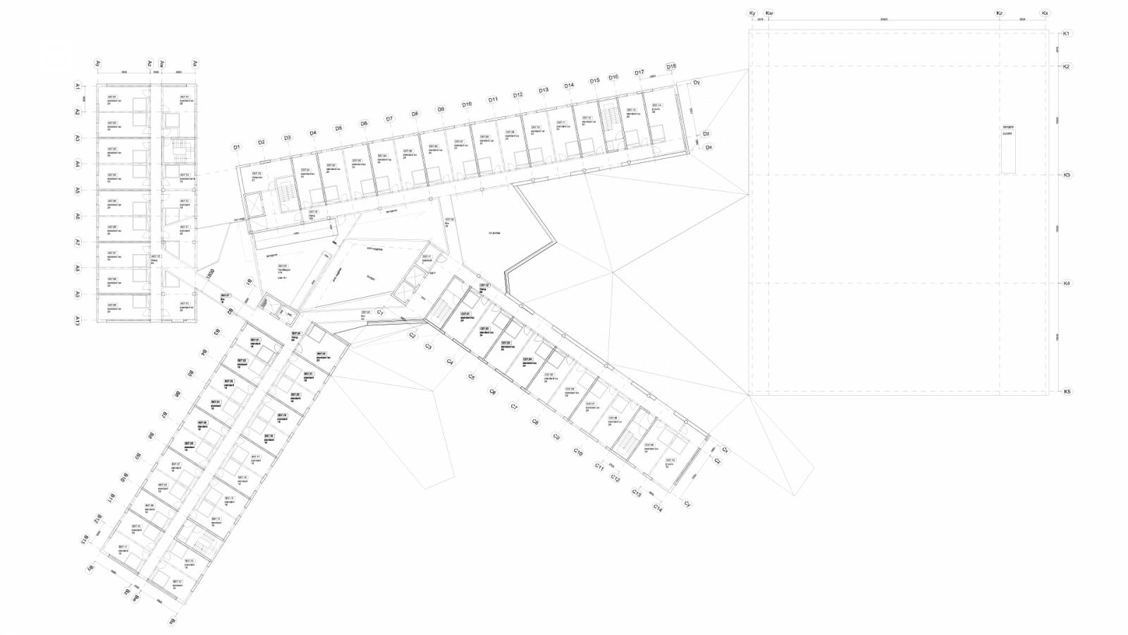 ROOM LAYOUT - Clarion Hotel & Congress - SPOL Architects