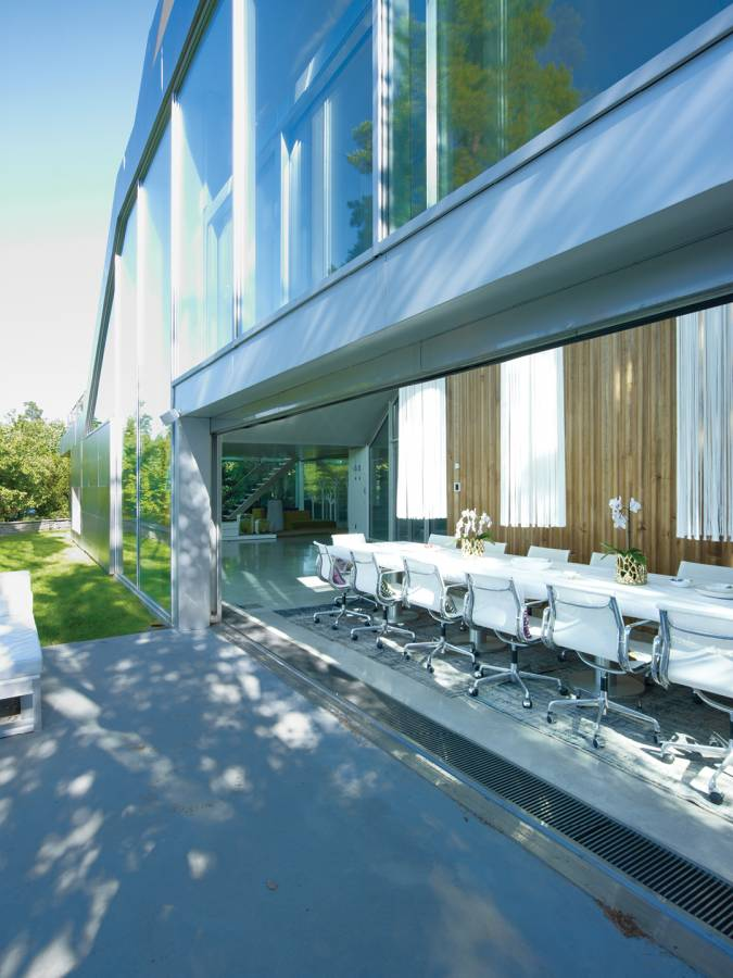 LOWER DINING TERRACE - V-House - SPOL Architects