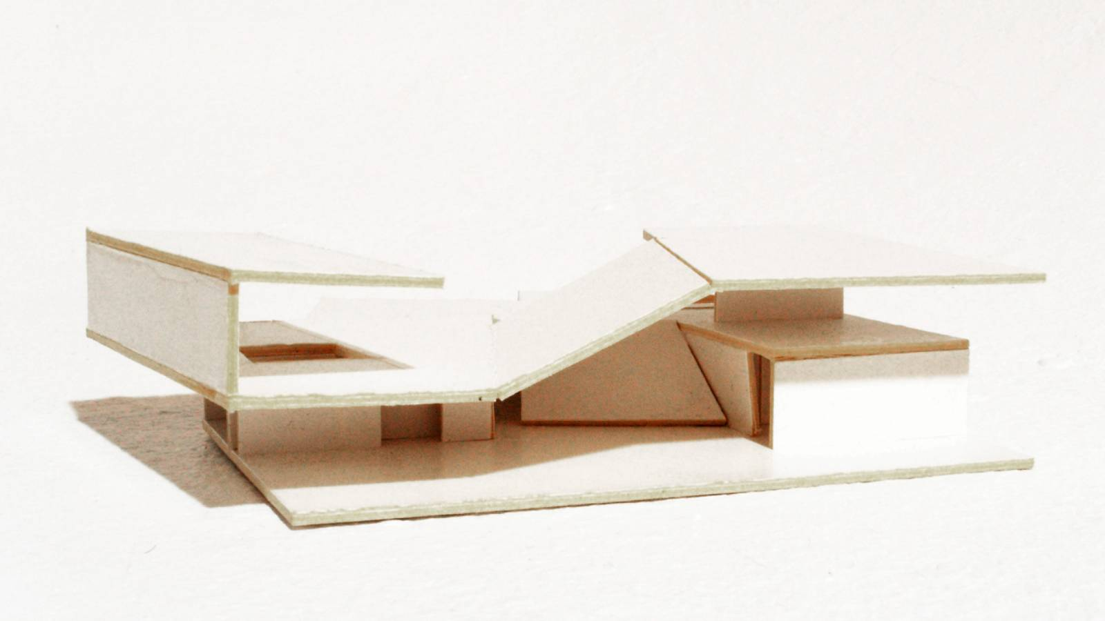 CONCEPT MODEL - V-House - SPOL Architects