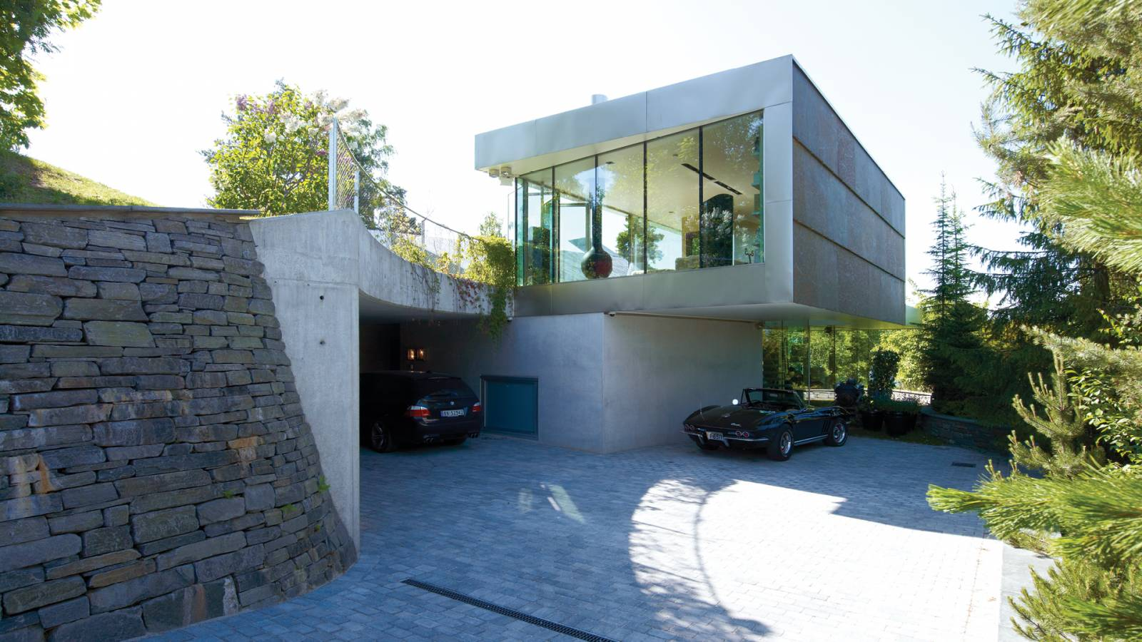 CAR ACCESS - V-House - SPOL Architects