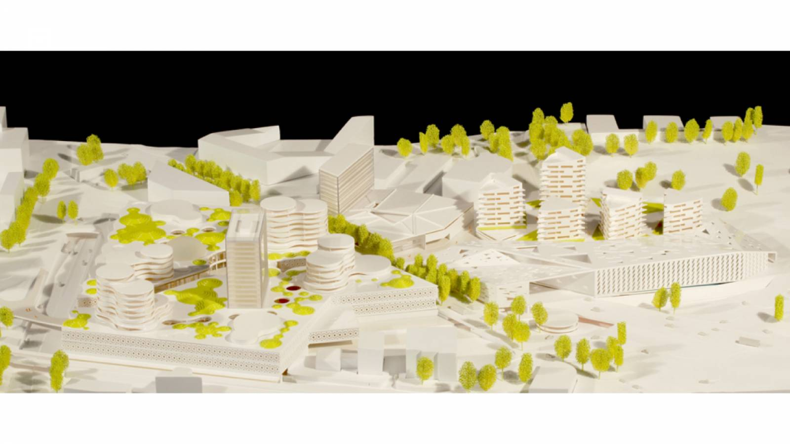 MODEL OFFICE - Økern Centre - SPOL Architects