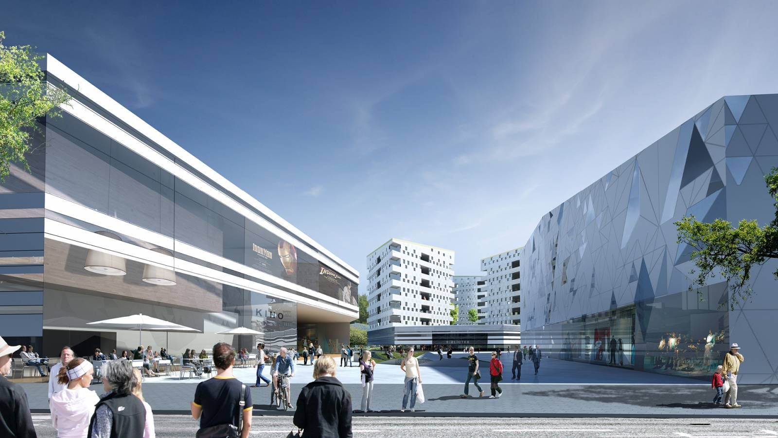 CULTURAL PLAZA - Økern Centre - SPOL Architects