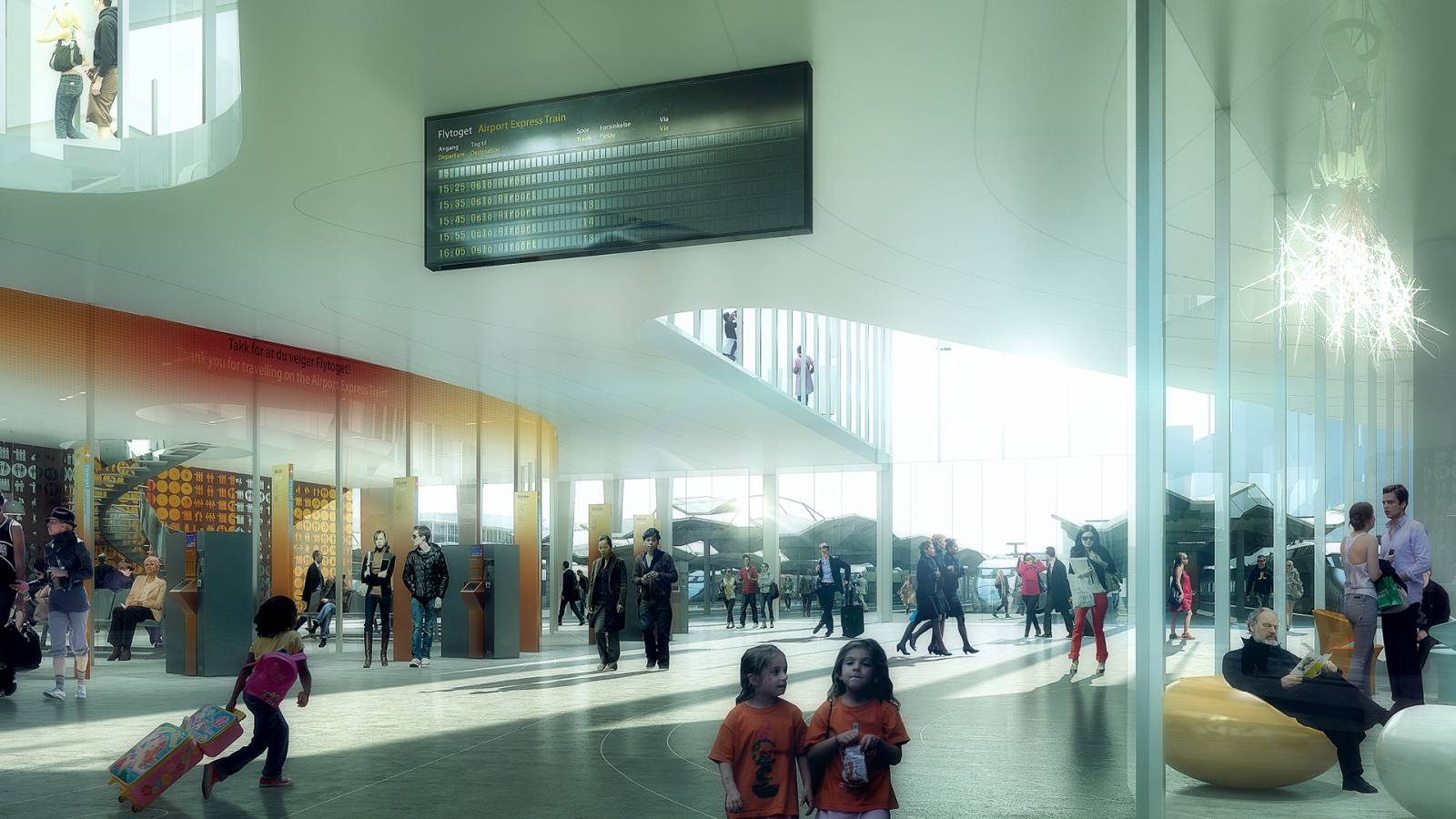 FJORDPORTEN BASE - OSLO CENTRAL STATION - SPOL Architects