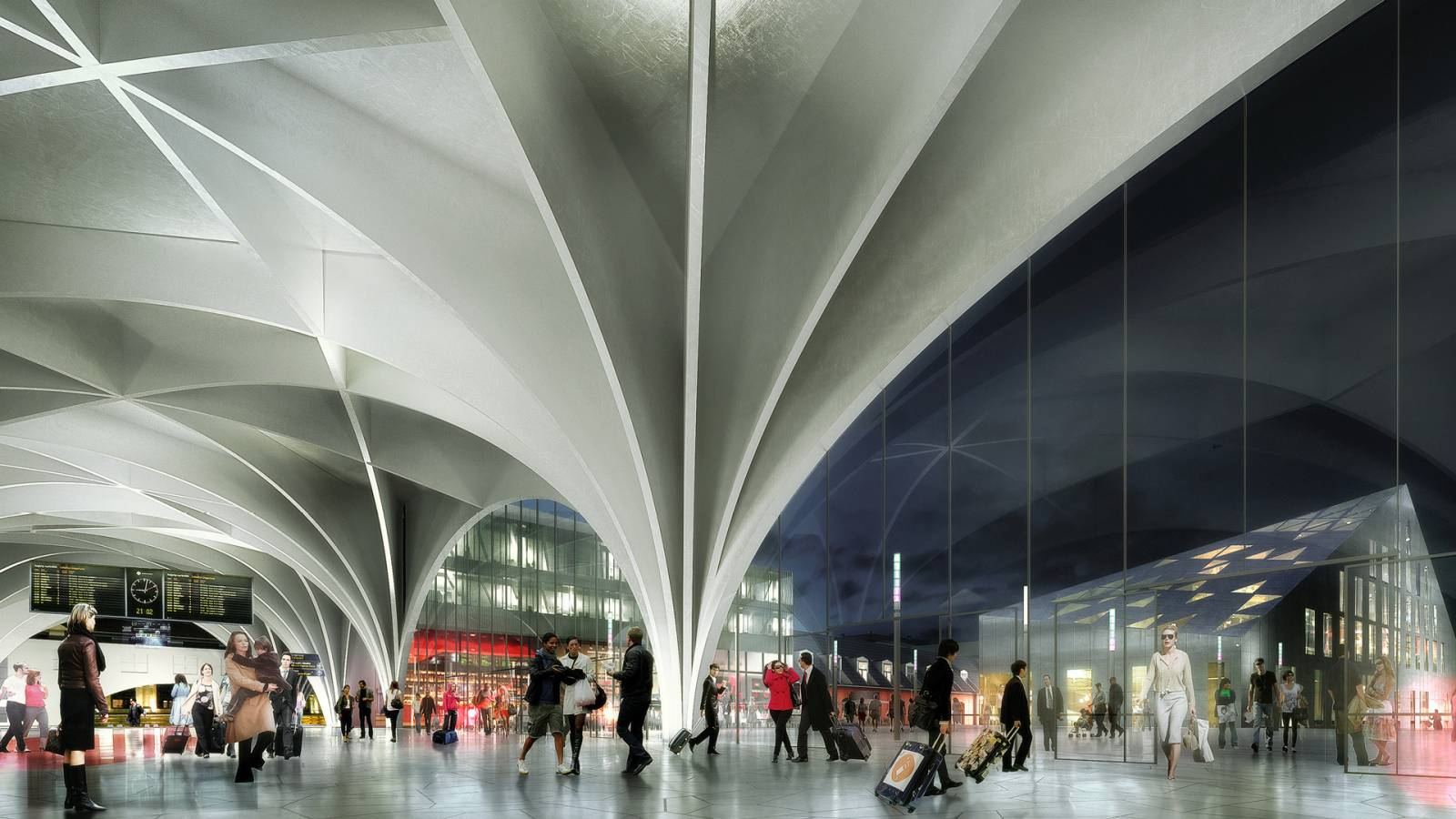 NEW UPPER PLAZA - OSLO CENTRAL STATION - SPOL Architects