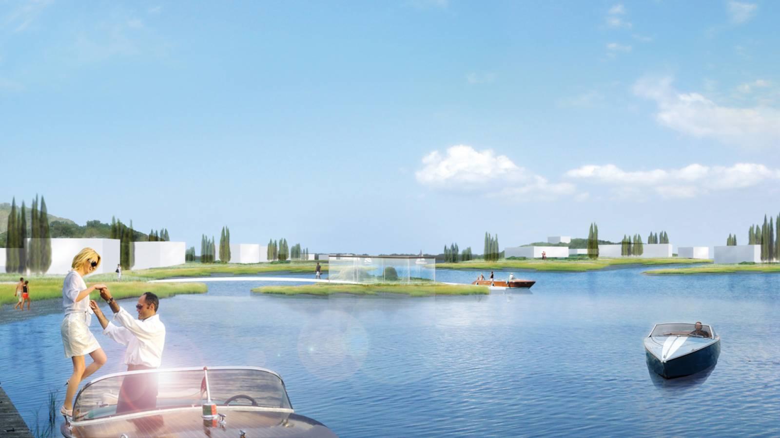 LUXURY VILLAGE VIEW - Velika Plaza Masterplan - SPOL Architects