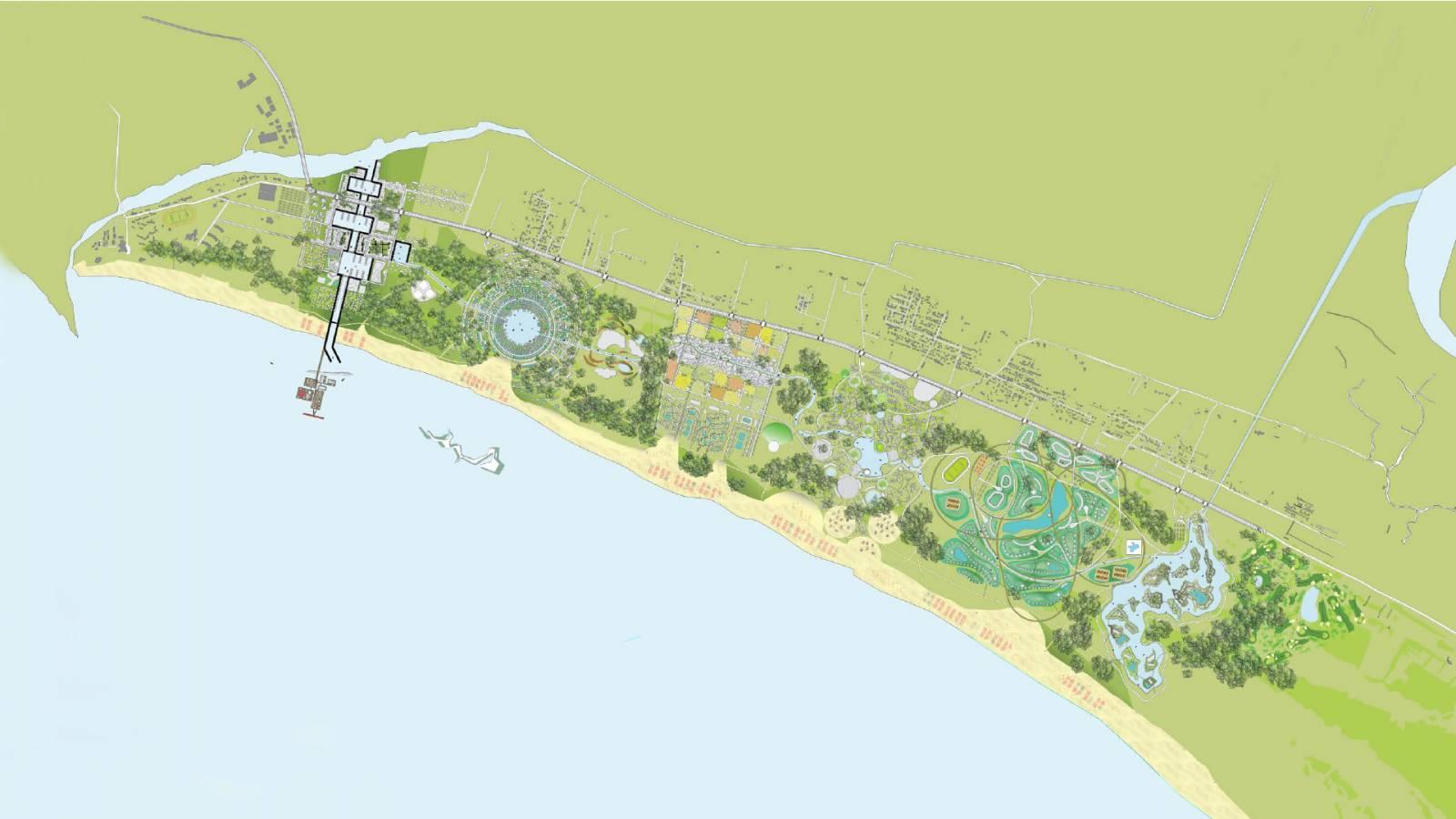 SITE PLAN - Velika Plaza Masterplan - SPOL Architects