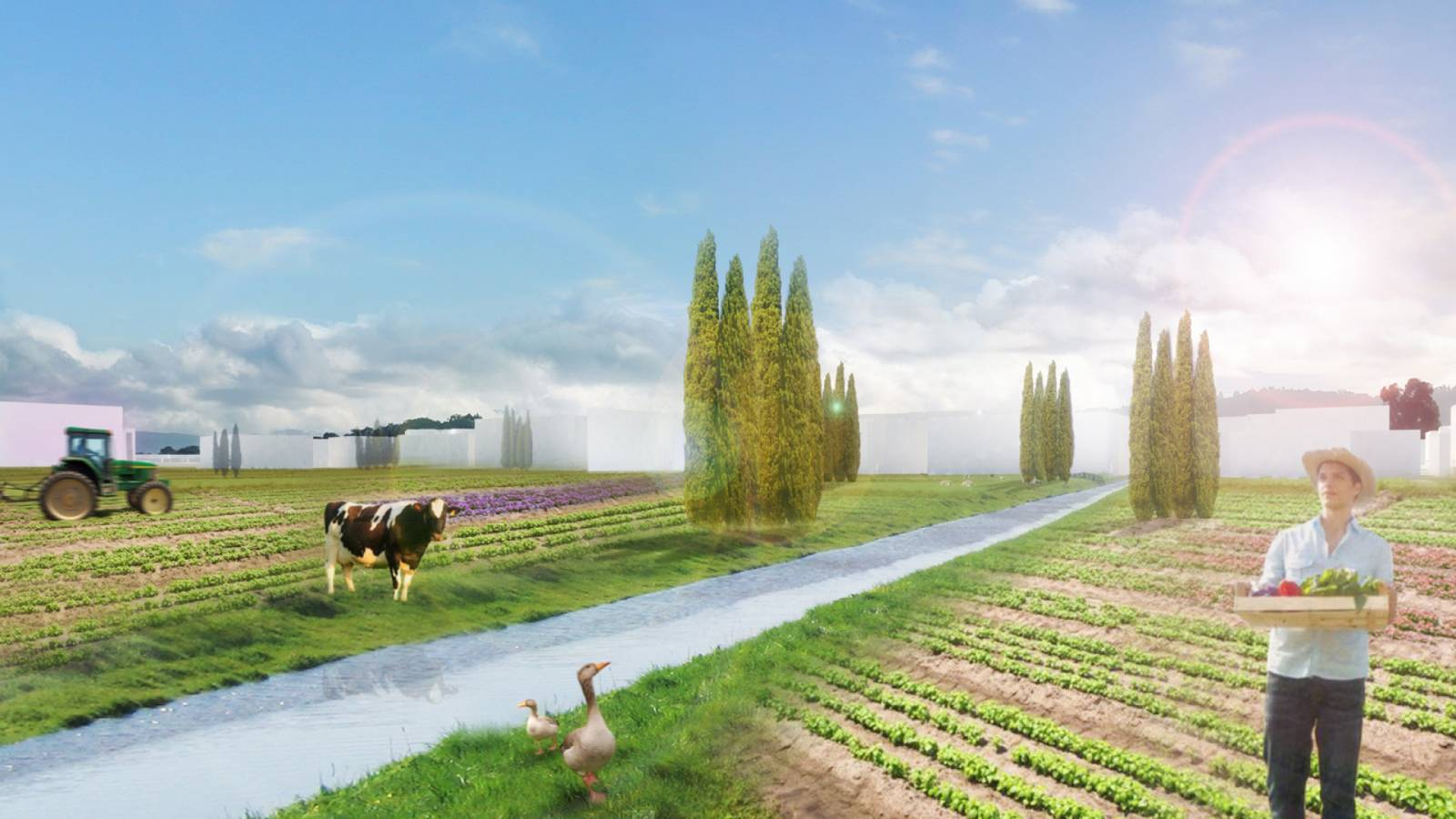 ECO VILLAGE VIEW - Velika Plaza Masterplan - SPOL Architects