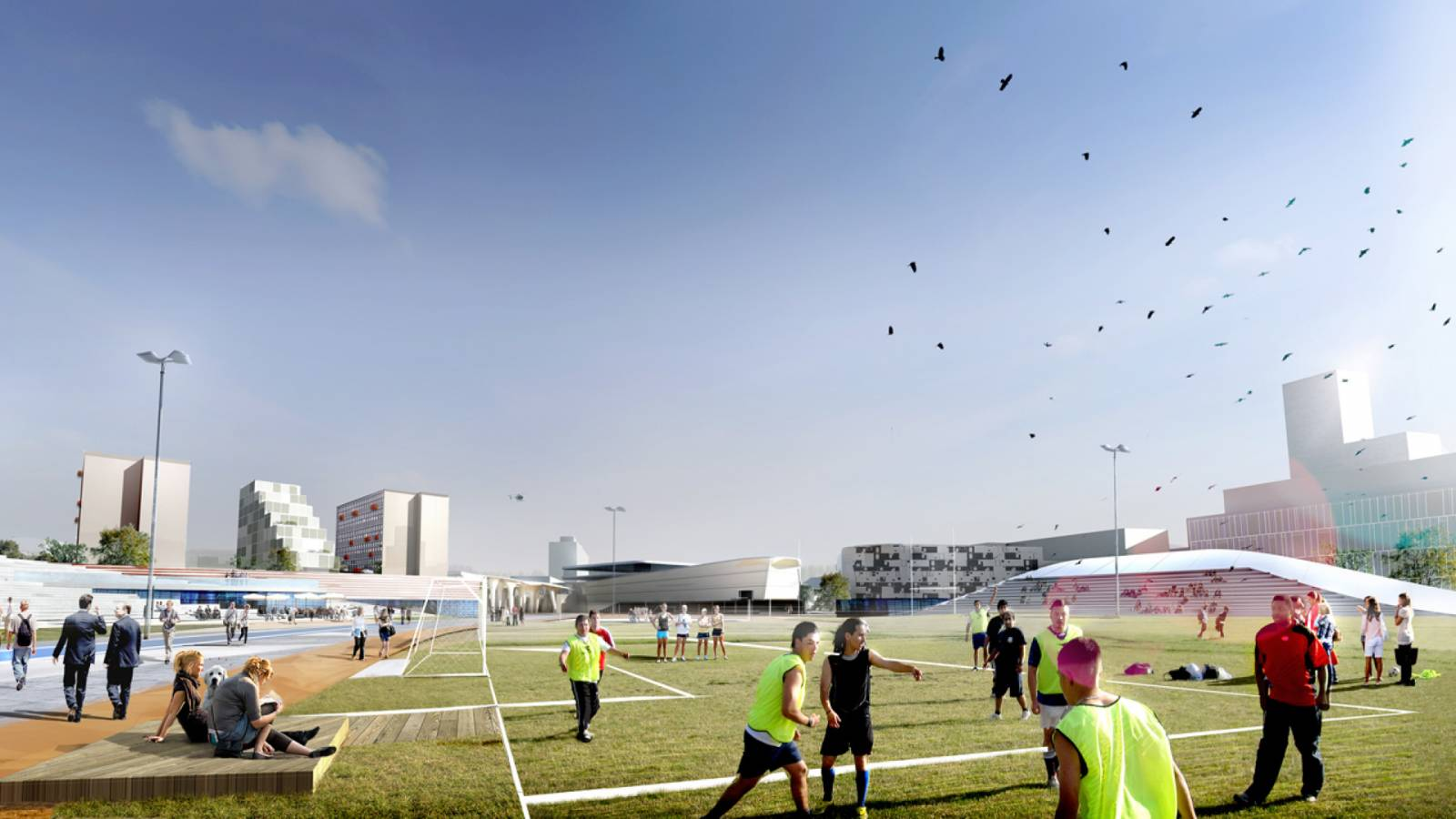 SPORT AND HEALTH - Nørre Campus - SPOL Architects