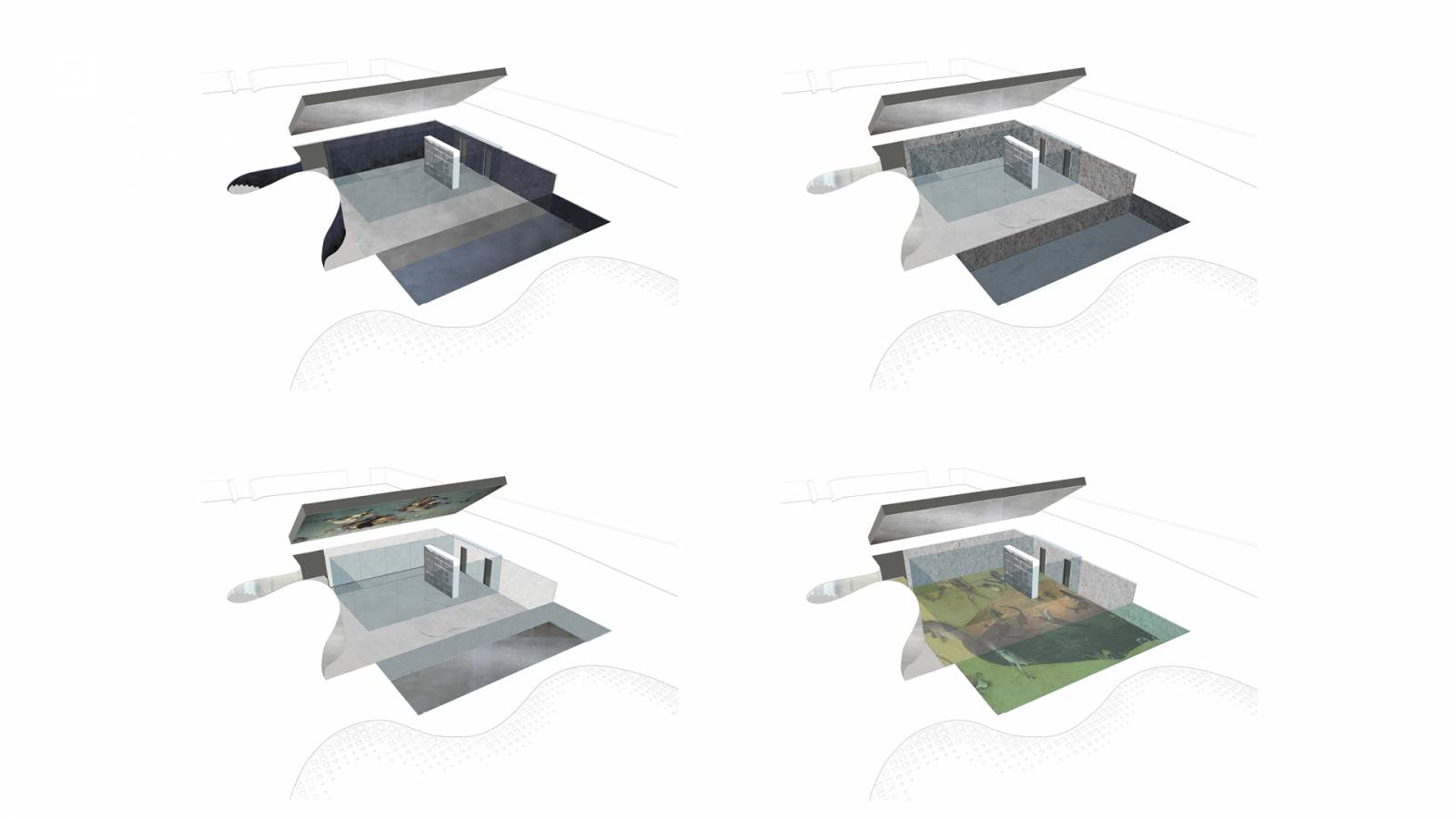 MATERIALITY STUDIES - São Paulo Art Pavillion - SPOL Architects