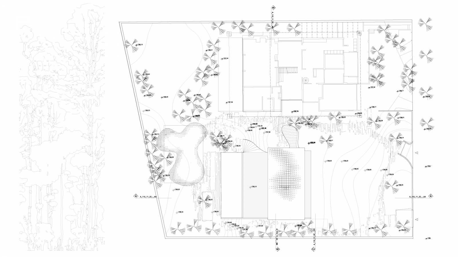 GARDEN PLAN - São Paulo Art Pavillion - SPOL Architects