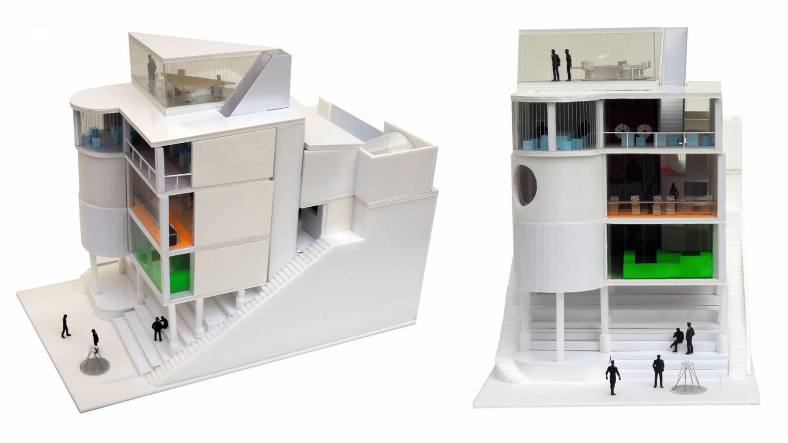 MODEL - Zeppelin Films - SPOL Architects