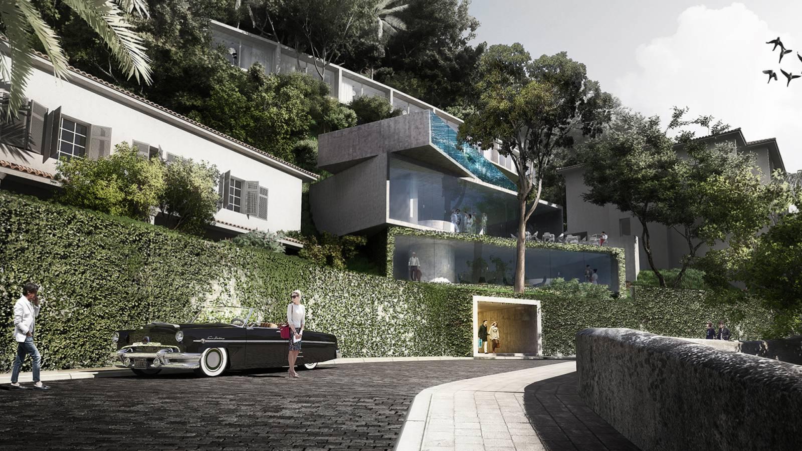 APPROACH - Hotel Aprazível - SPOL Architects