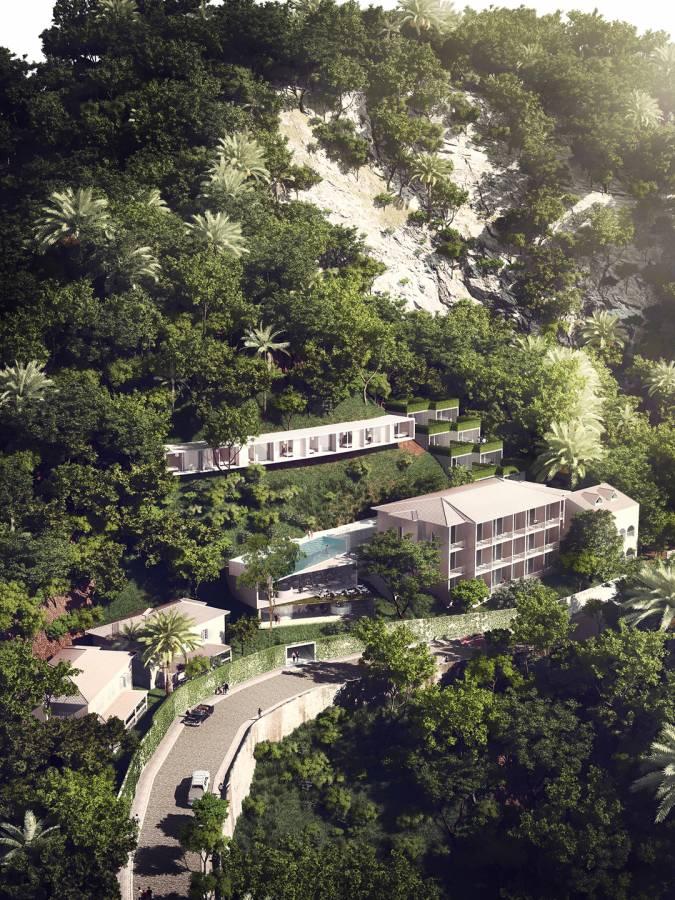 HOTEL CUT INTO HILL - Hotel Aprazível - SPOL Architects