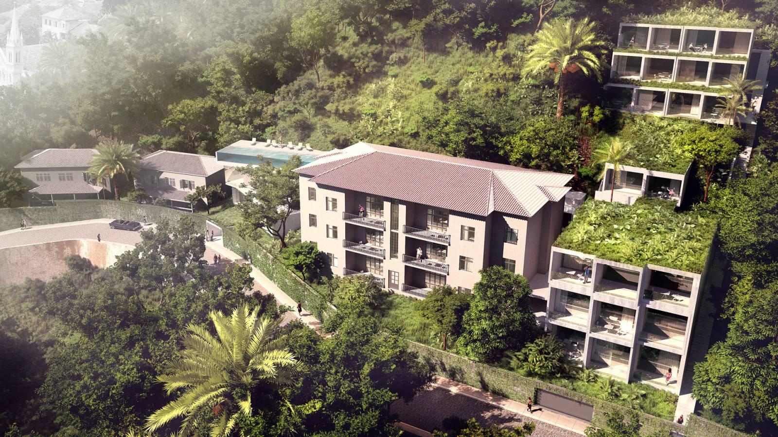 AERIAL - Hotel Aprazível - SPOL Architects