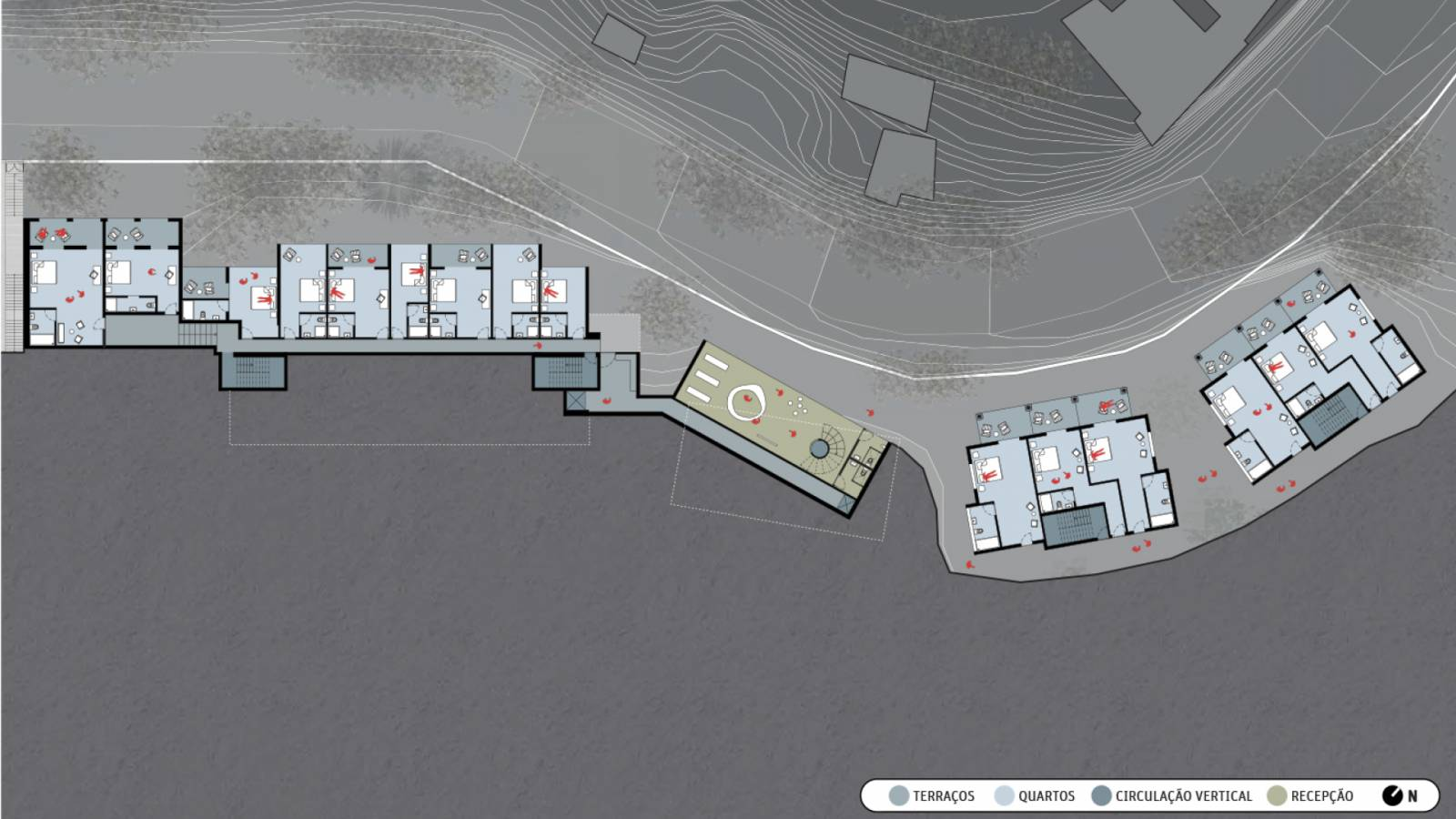 LEVEL 2 PLAN - Hotel Aprazível - SPOL Architects