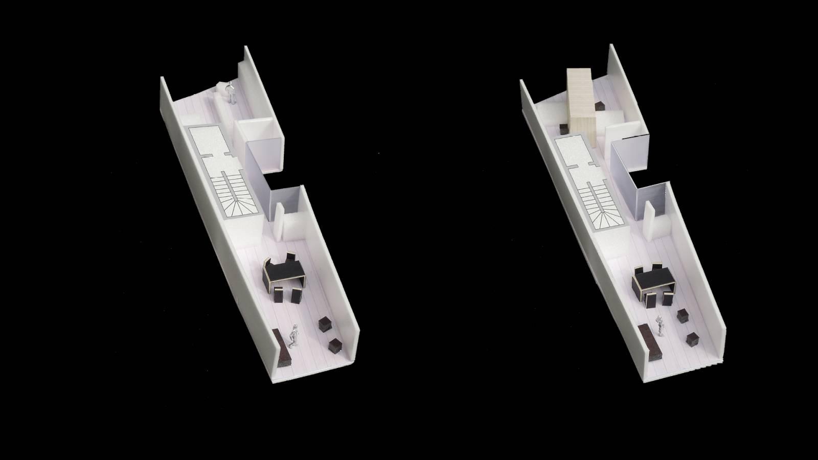 PENTHOUSE MODEL - Salvador Lofts - SPOL Architects