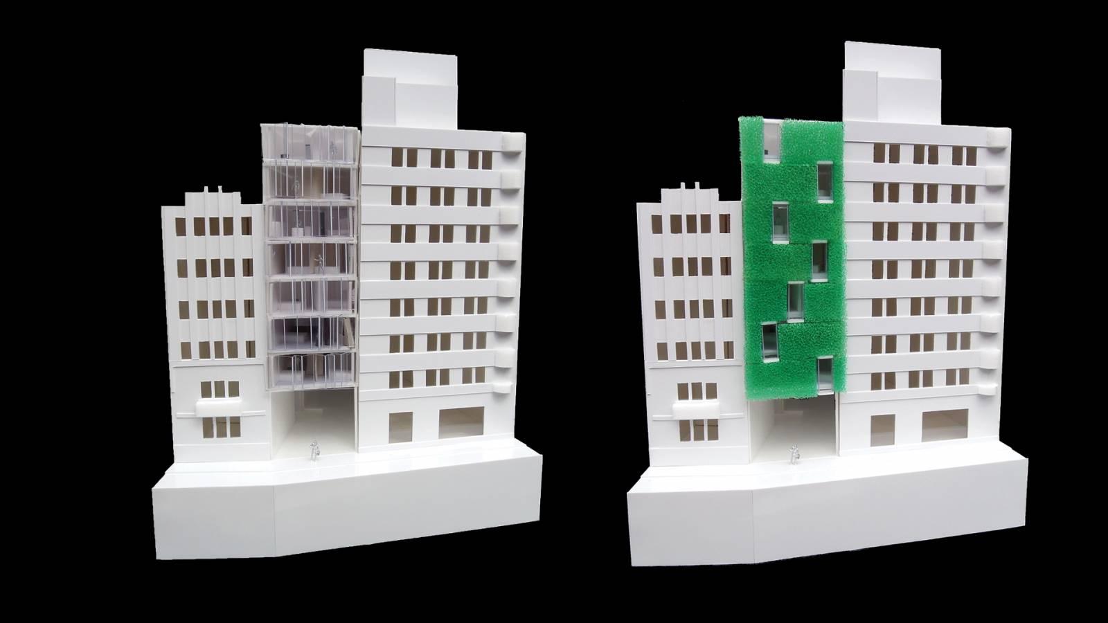 FACADE PROPOSAL  - MODELS - Salvador Lofts - SPOL Architects