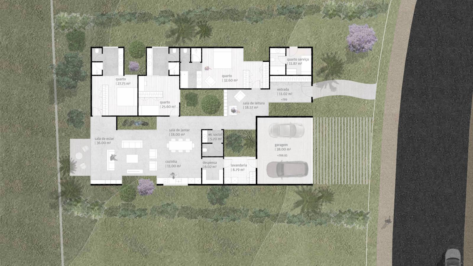 HOUSE #2 - PLAN - 6 case study houses - SPOL Architects