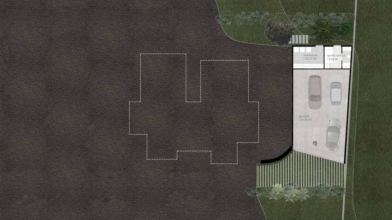 HOUSE #3 - LEVEL 1 PLAN - 6 case study houses - SPOL Architects