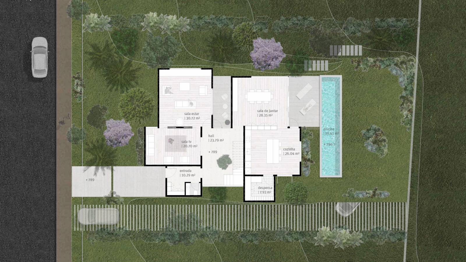 HOUSE #3 - LEVEL 2 PLAN - 6 case study houses - SPOL Architects