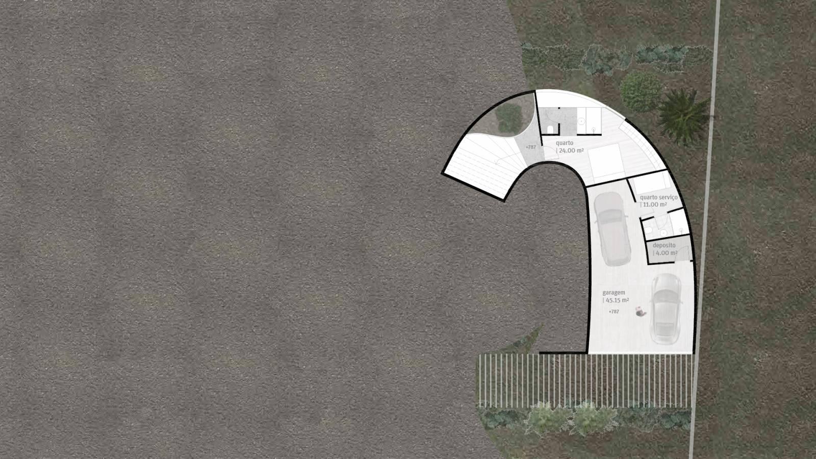 HOUSE #6 - LEVEL 1 PLAN - 6 case study houses - SPOL Architects