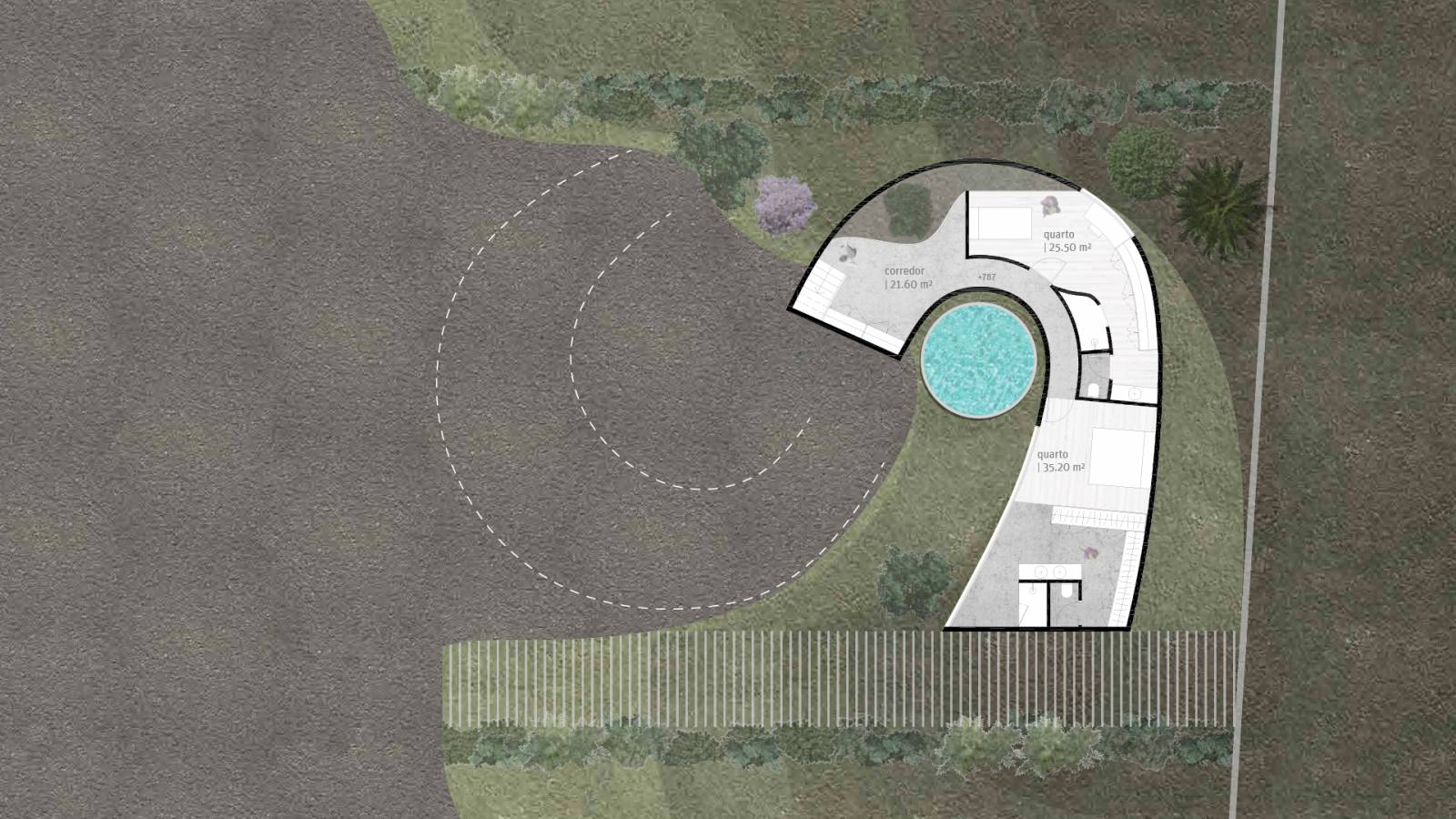 HOUSE #6 - LEVEL 2 PLAN - 6 case study houses - SPOL Architects
