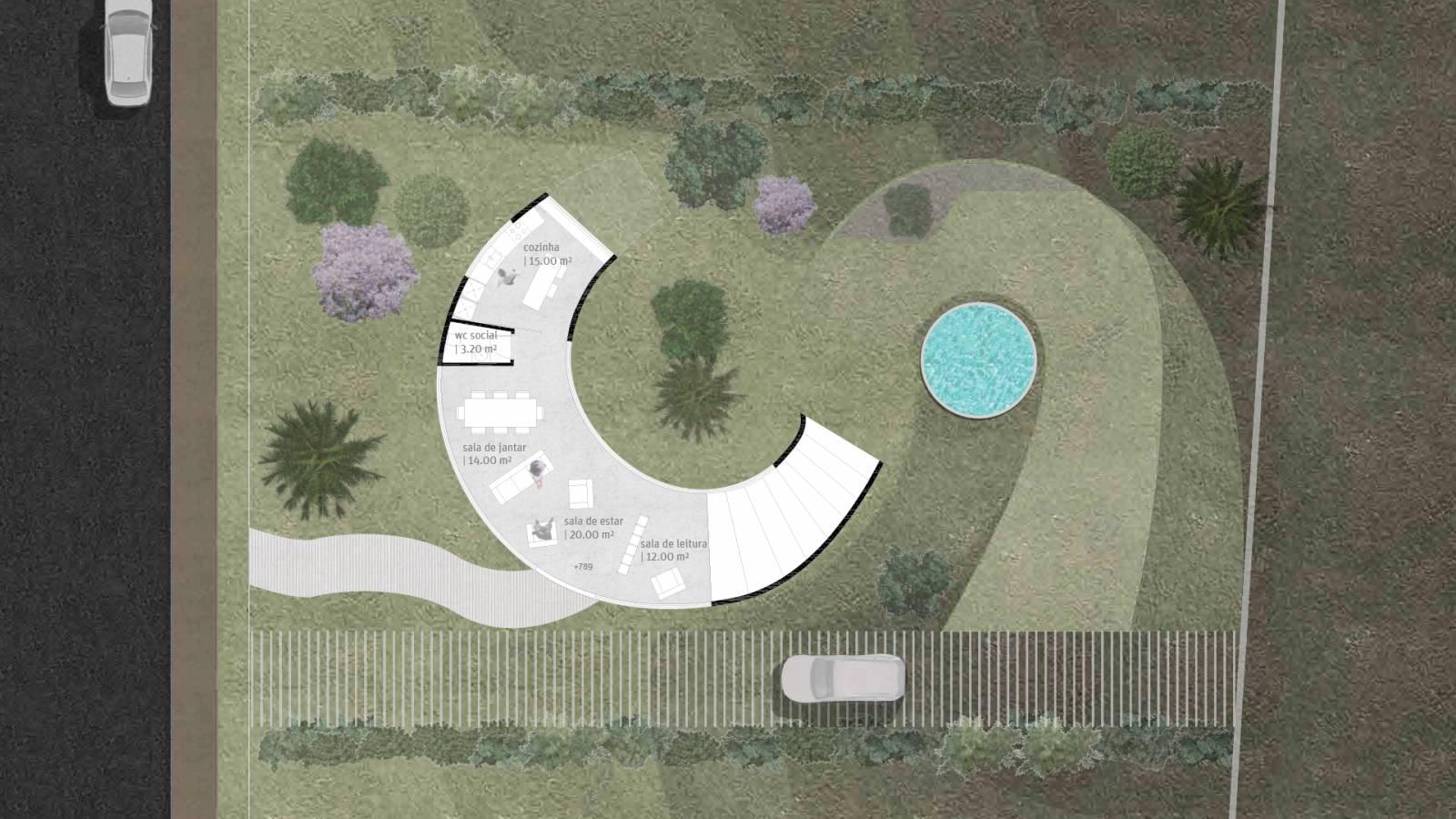 HOUSE #6 - LEVEL 4 PLAN - 6 case study houses - SPOL Architects