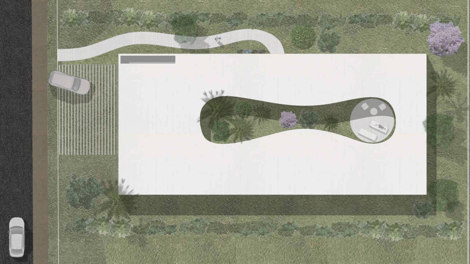 ROOF PLAN - 6 case study houses - SPOL Architects