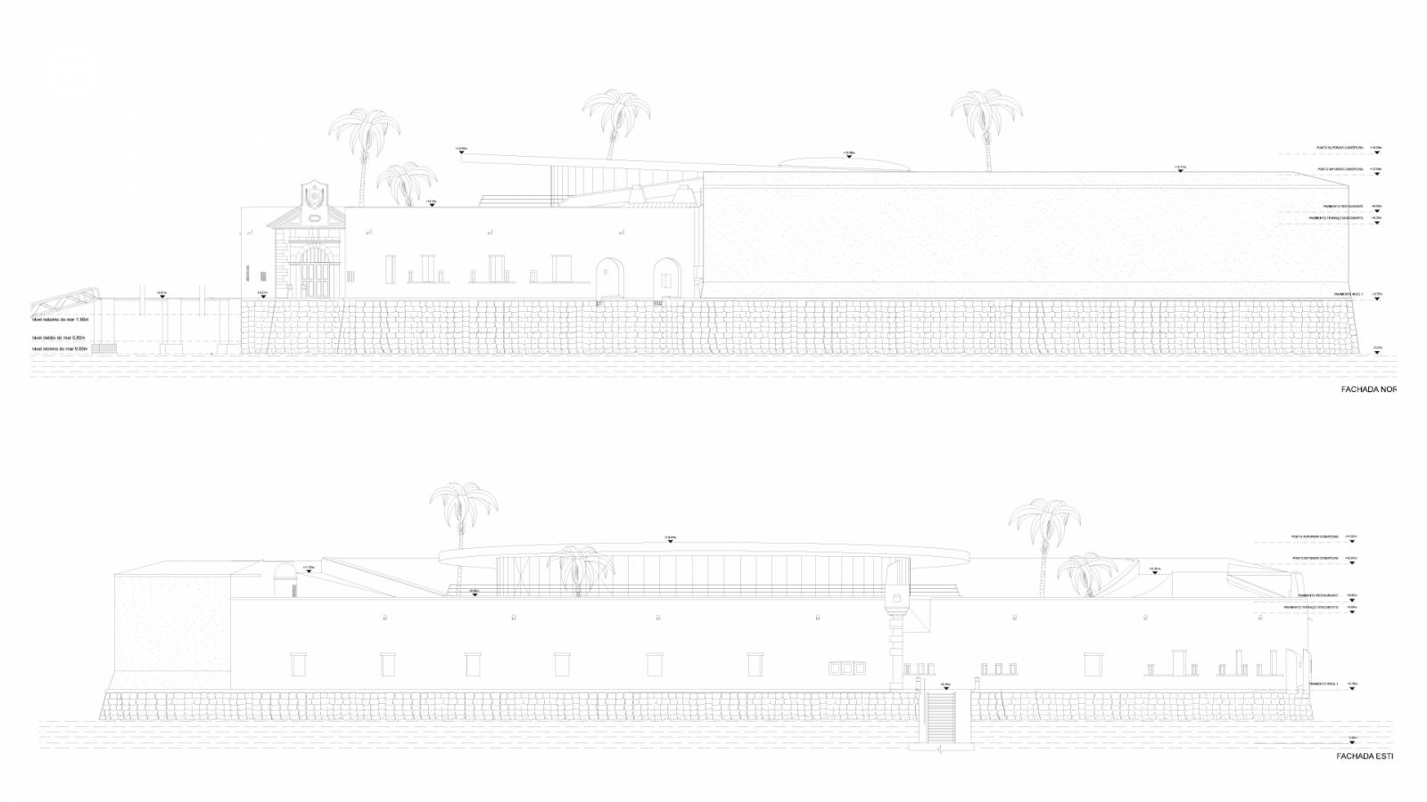 SECTIONS - Forte São Marcelo - SPOL Architects