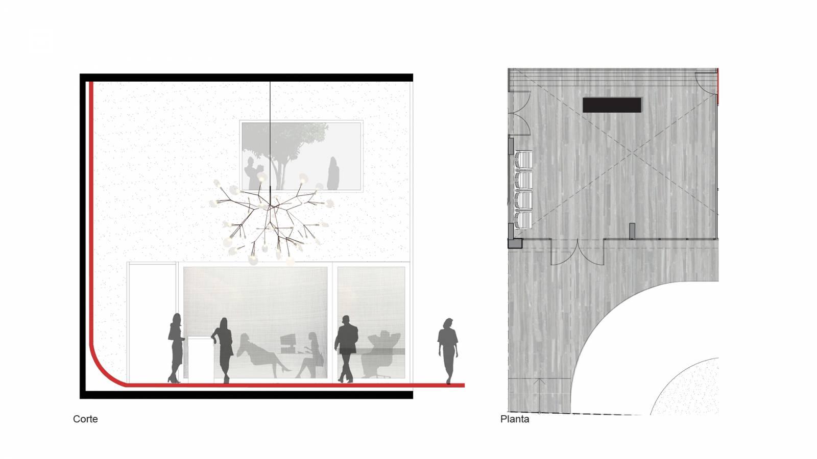 LOBBY - Fiandeiras Apartments - SPOL Architects
