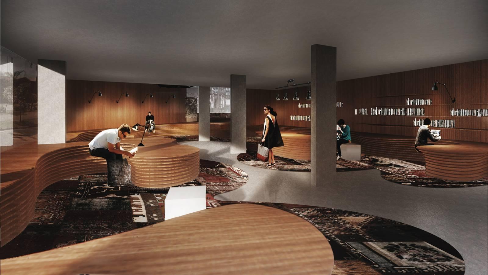 LOUNGE - Fiandeiras Apartments - SPOL Architects