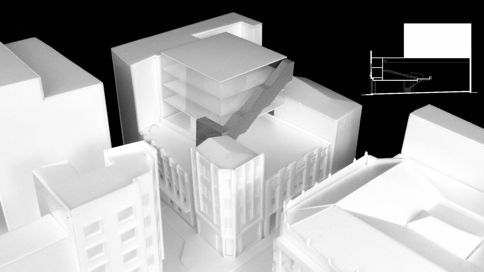 CONCEPT MODEL - Cinearte - SPOL Architects