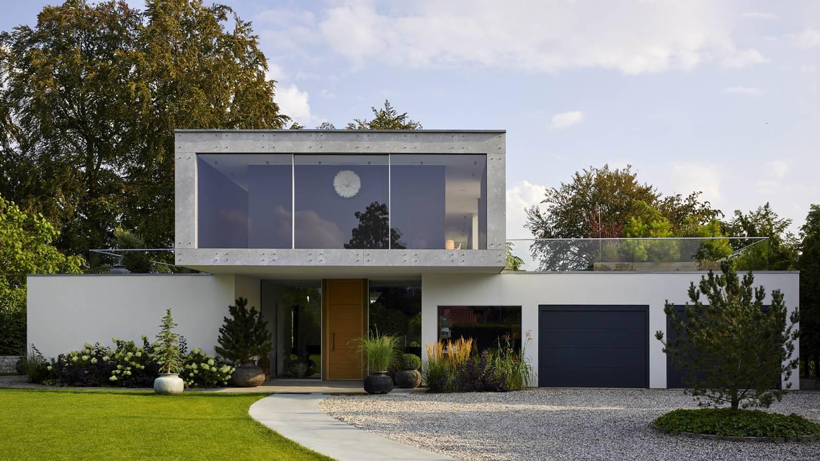 MAIN ENTRANCE FACADE - CPH HOUSE - SPOL Architects