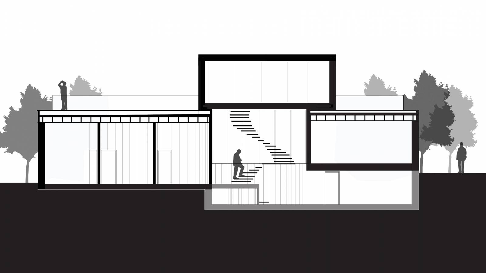 SECTION - CPH HOUSE - SPOL Architects
