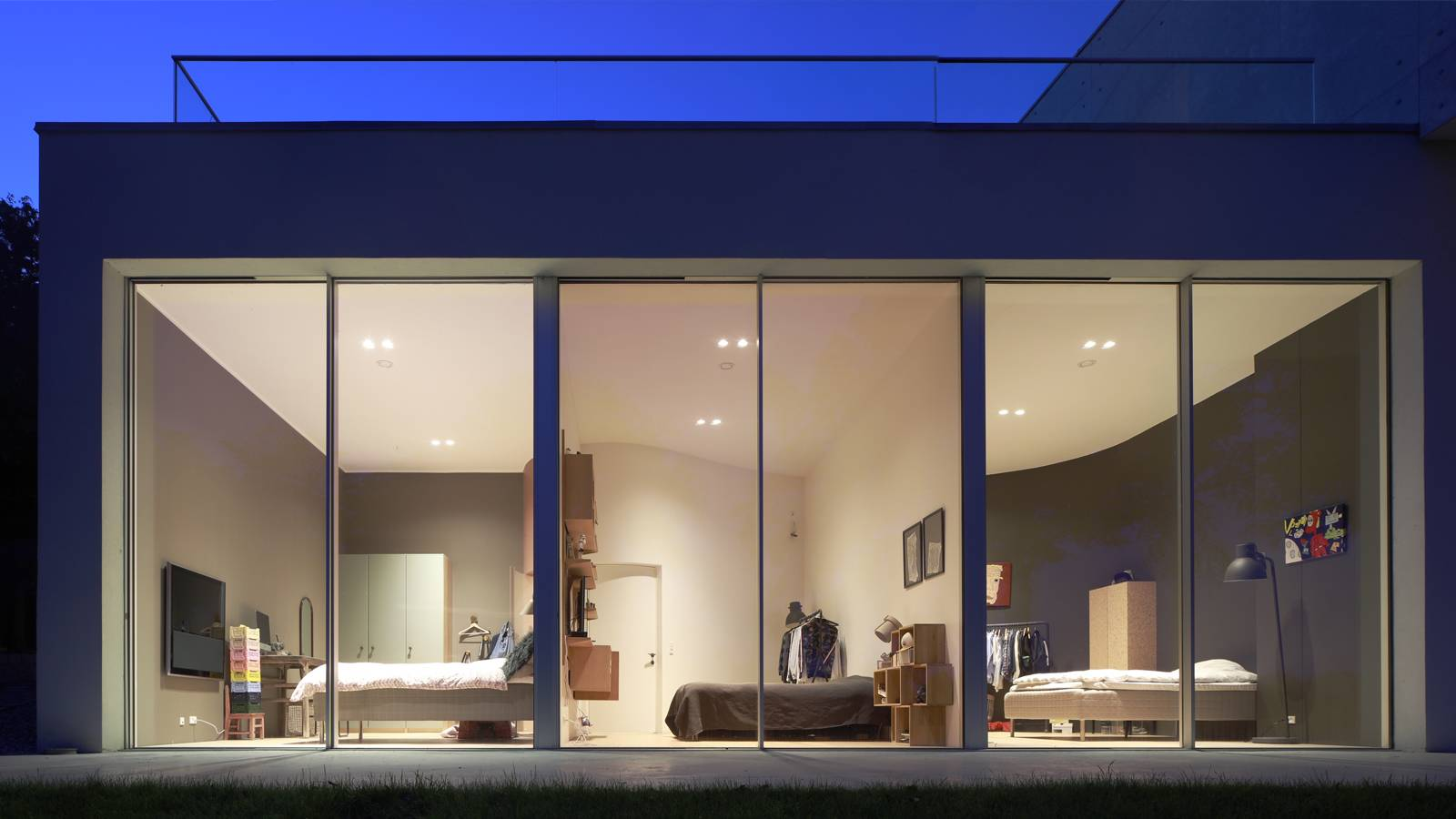 EXTERNAL VIEW - BEDROOMS - CPH HOUSE - SPOL Architects