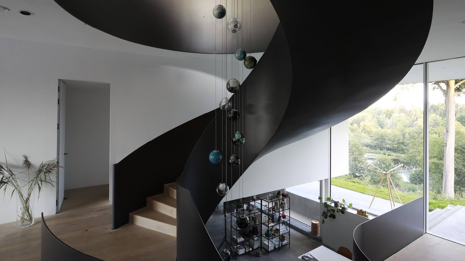 STAIR CURVE - CPH HOUSE - SPOL Architects