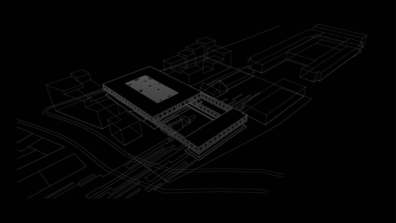 AERIAL VIEW - NEW AARCH – FLYING CARPET - SPOL Architects