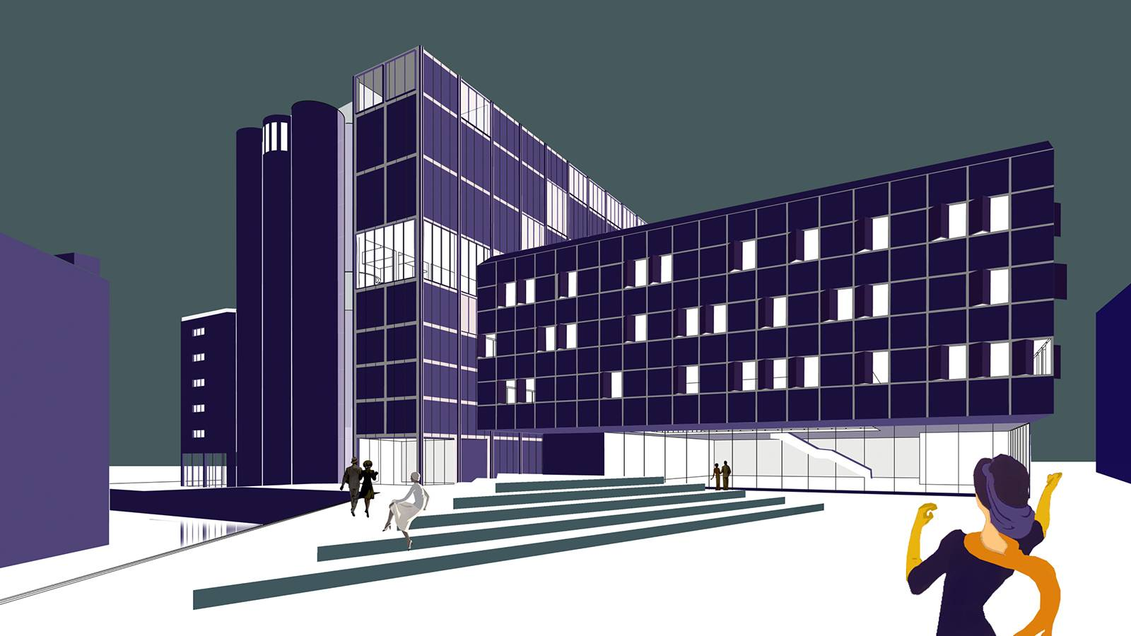 ART SCHOOL PLAZA - Kunstsilo - SPOL Architects