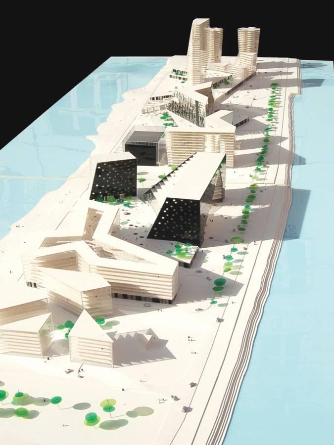CONCEPT MODEL - Zakusala - SPOL Architects