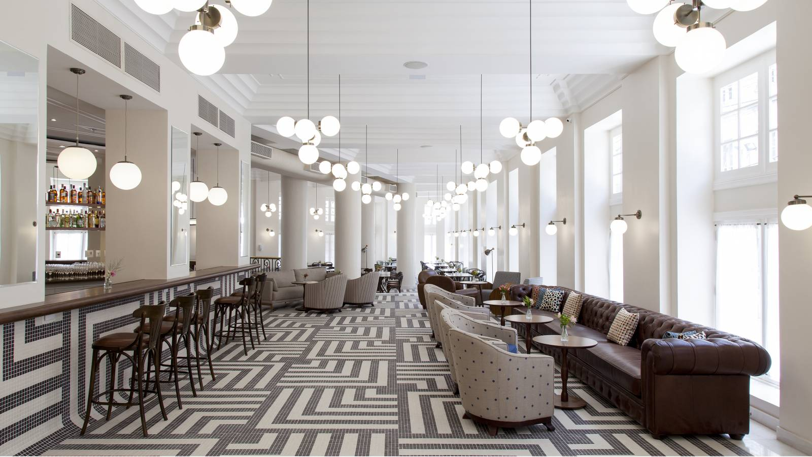 LOBBY BAR - Fera Palace Hotel - SPOL Architects