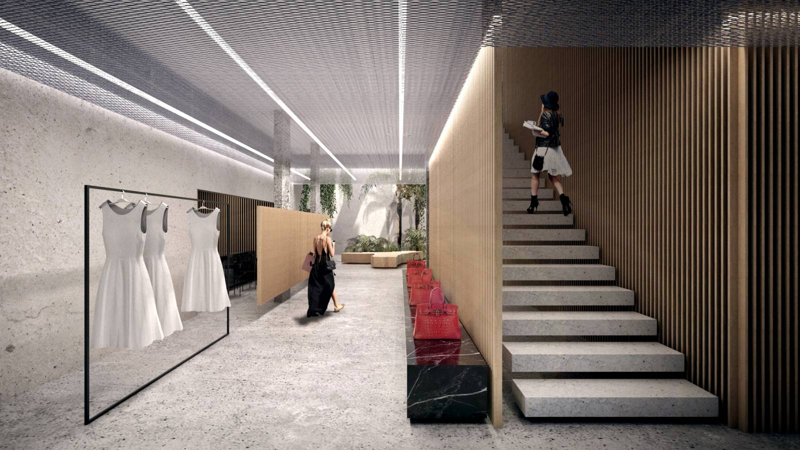 INTERIOR NK STORE - NK Store - SPOL Architects