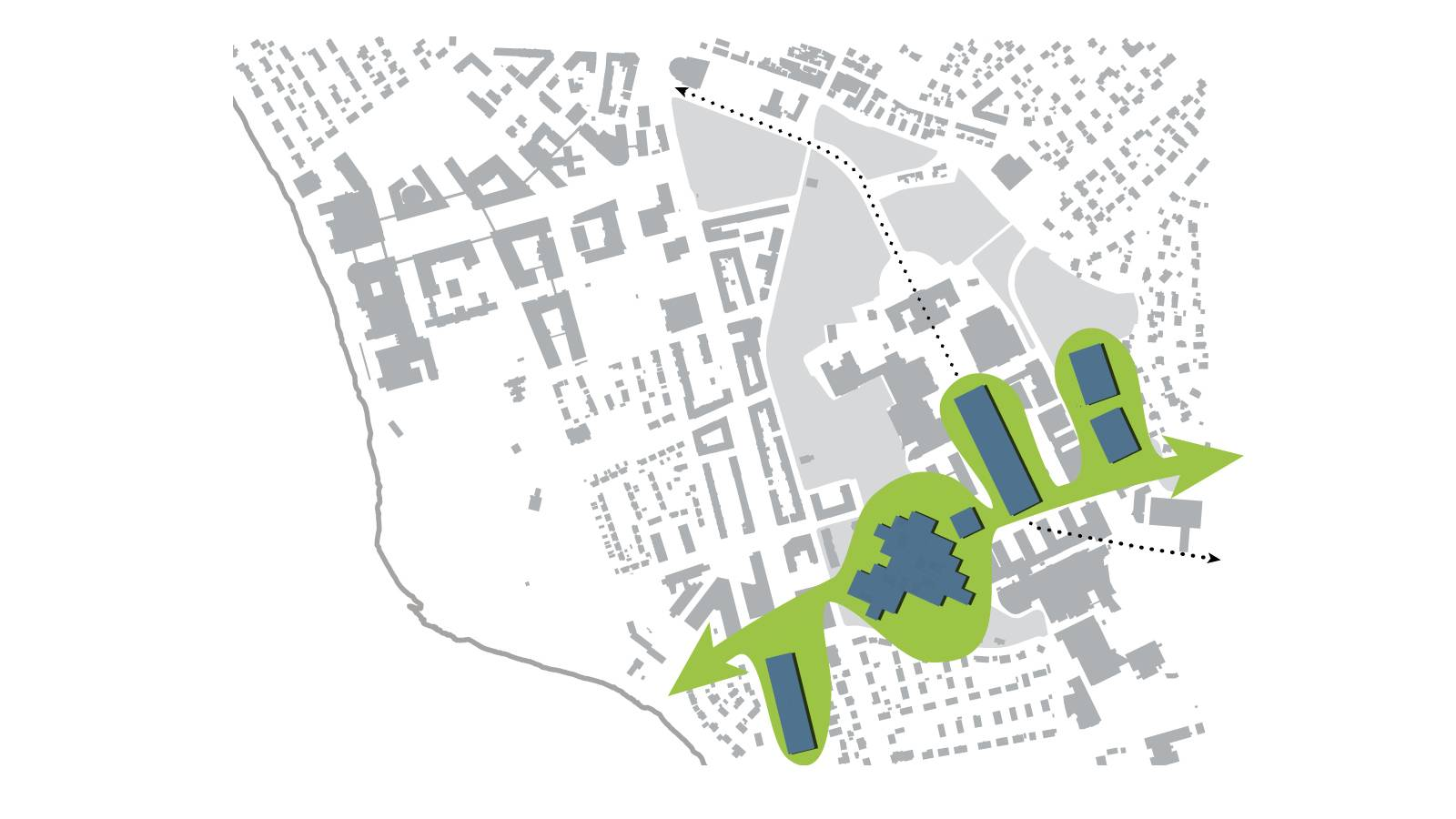 THE NEW CAMPUS AXIS - NTNU – Open Campus - SPOL Architects