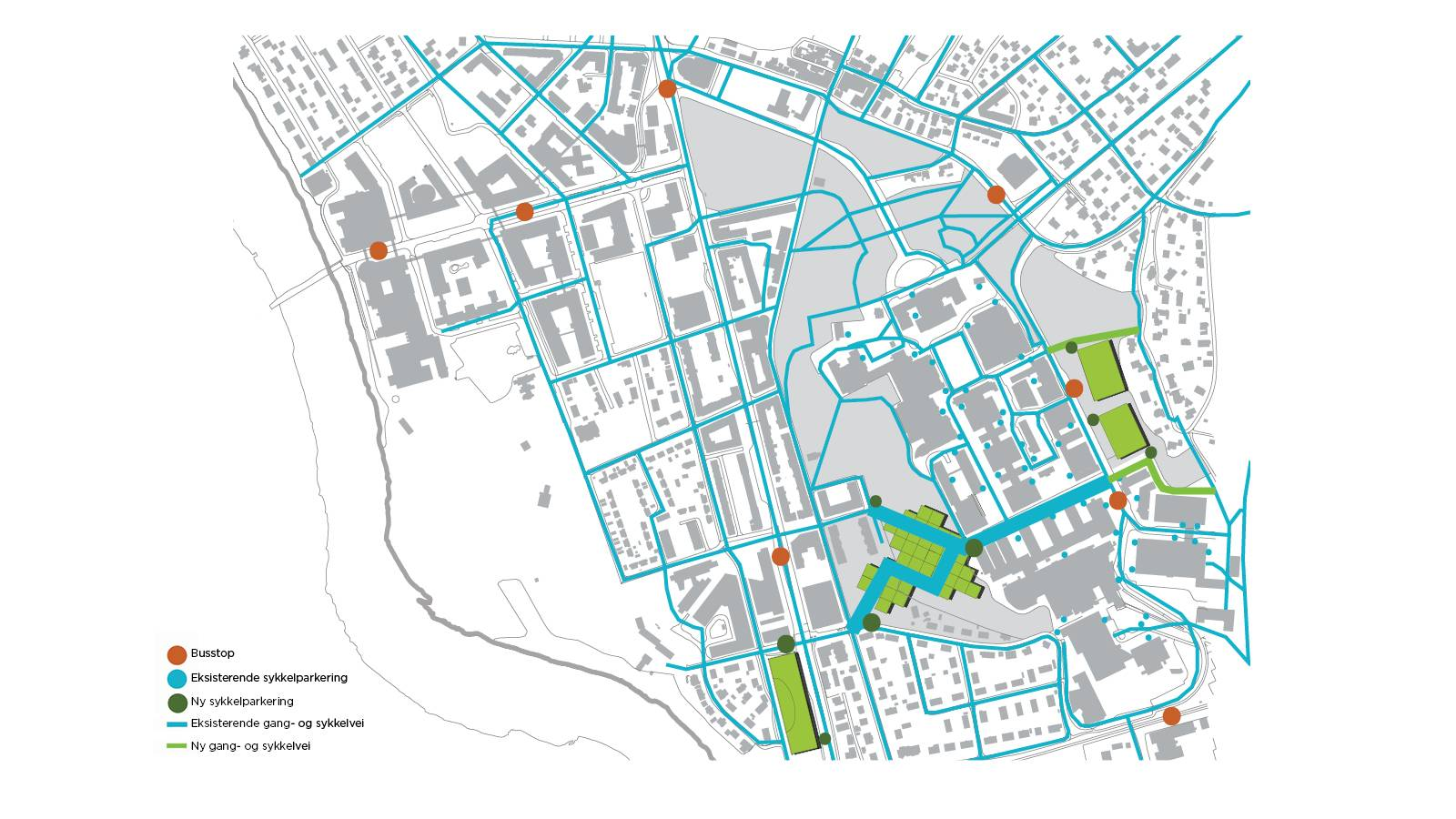 GREEN MOBILITY - NTNU – Open Campus - SPOL Architects