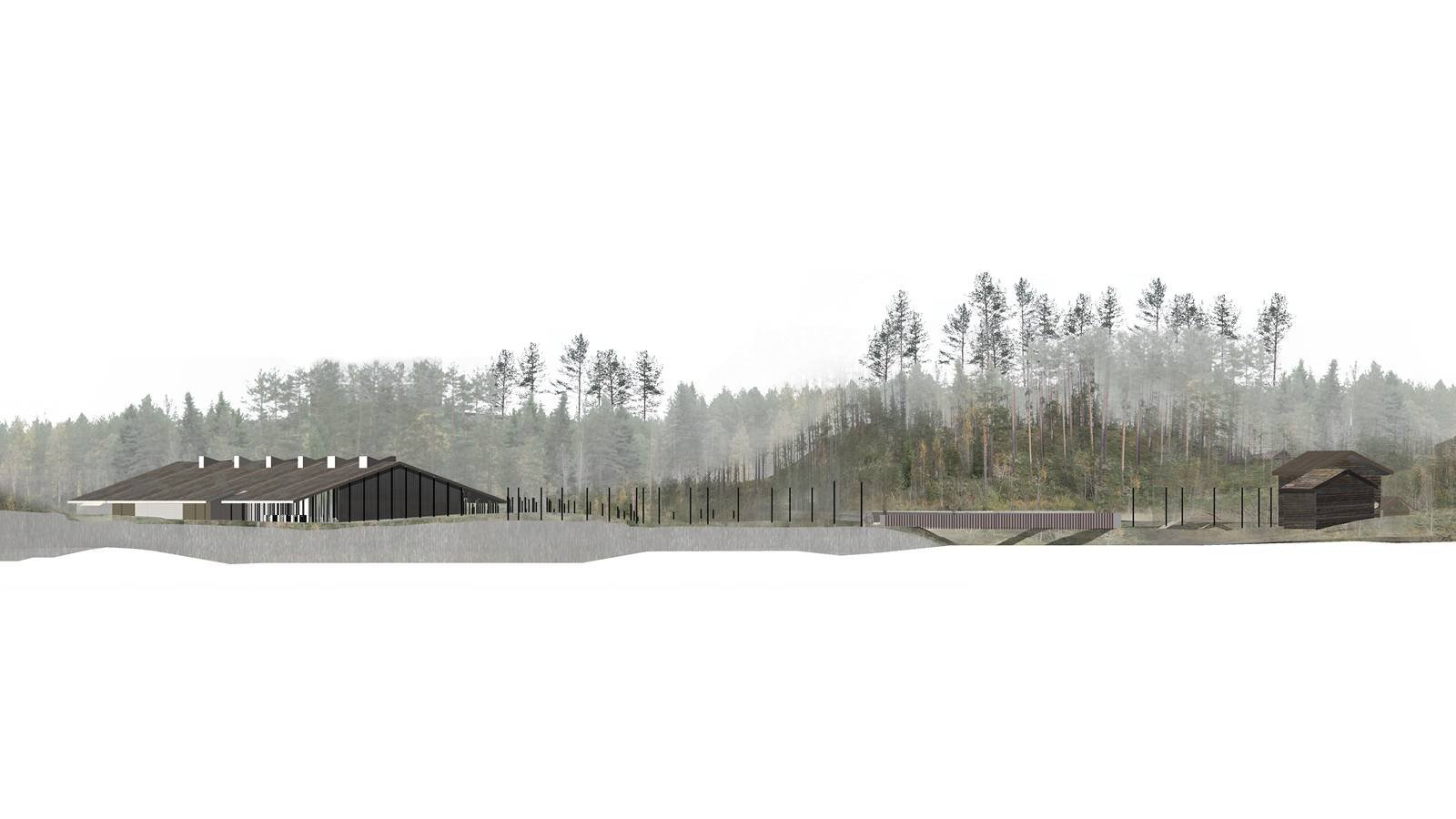 NEW MUSEUM AND EXISTING OPEN AIR MUSEUM - Skogfinsk Museum - SPOL Architects