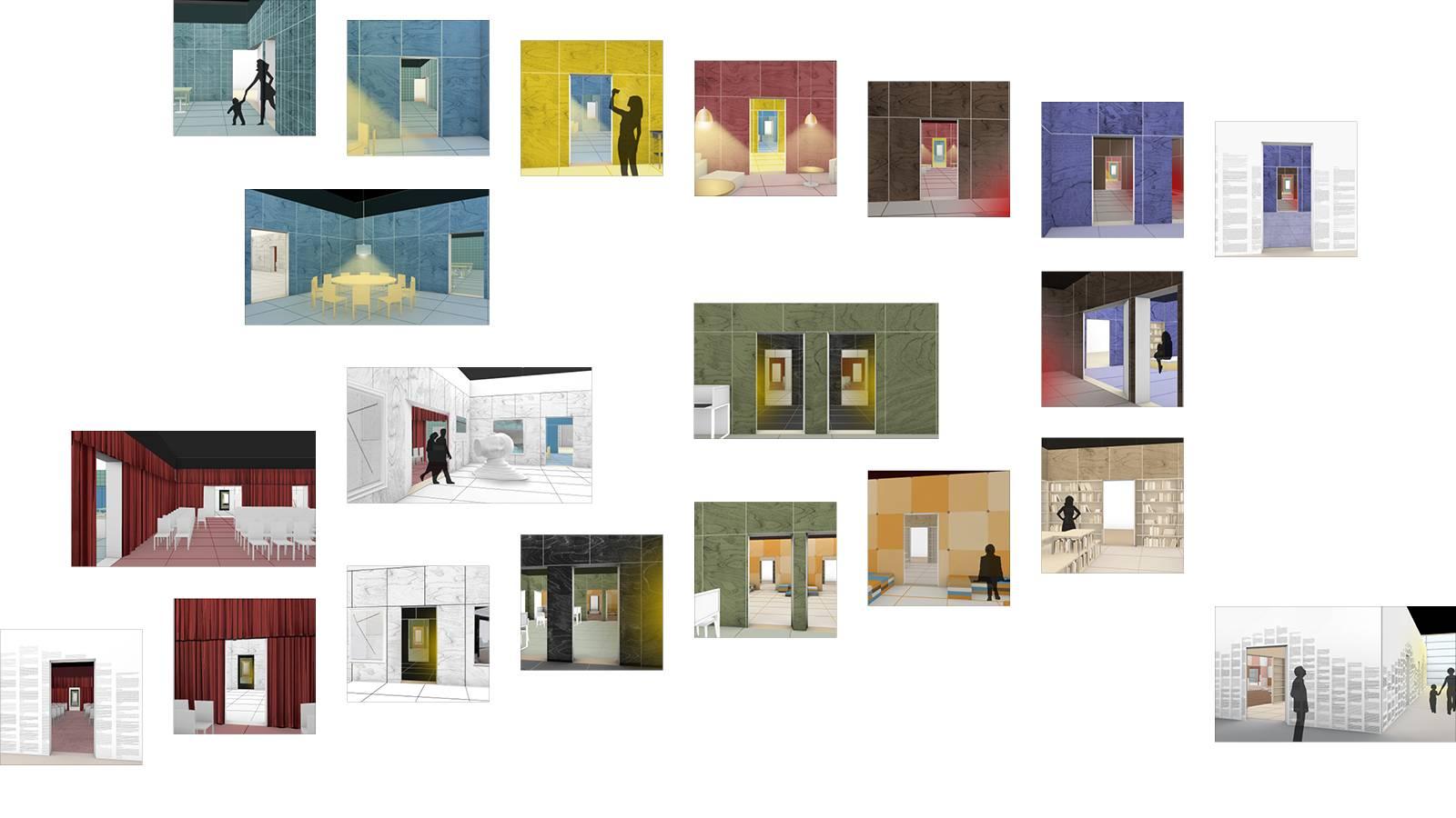 PERSPECTIVE SEQUENCES - Frankfurt Book Fair Pavilion - SPOL Architects
