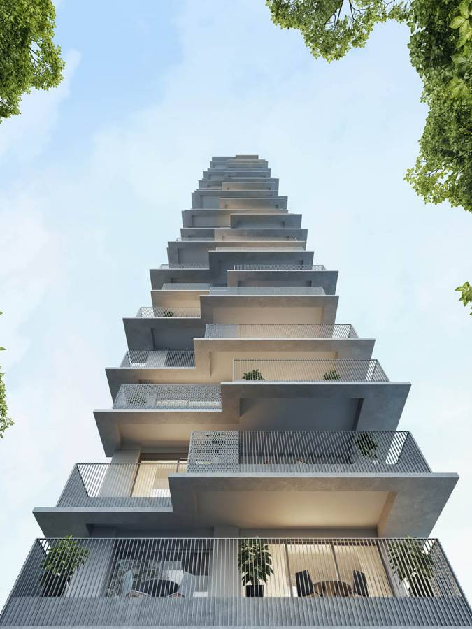 BACK TERRACES - Nord Residential - SPOL Architects