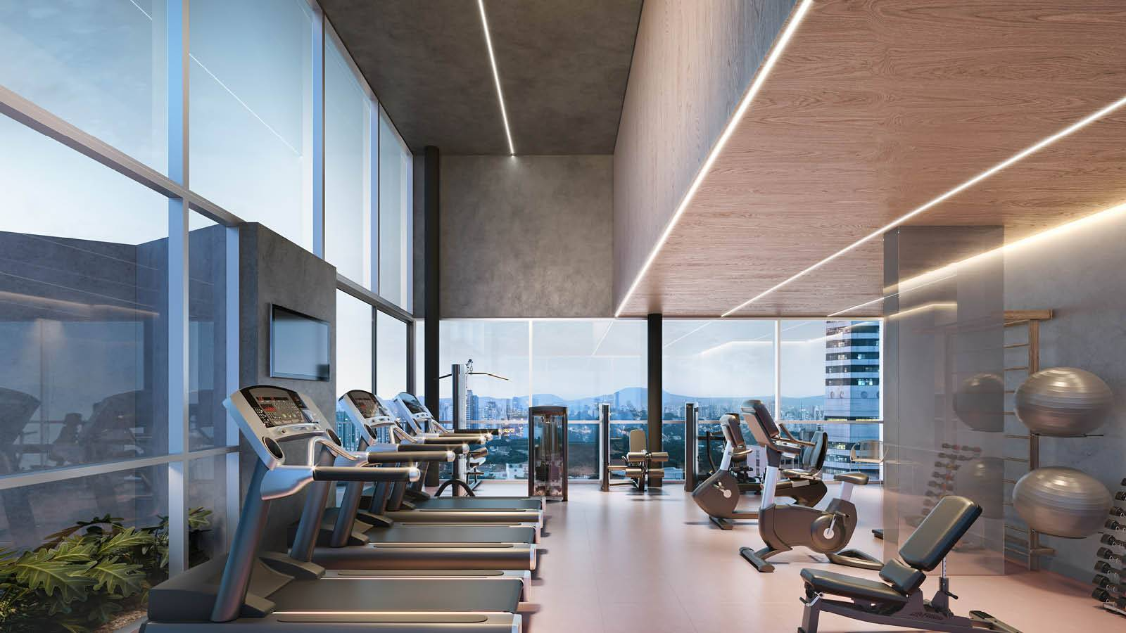 GYM - Nord Residential - SPOL Architects