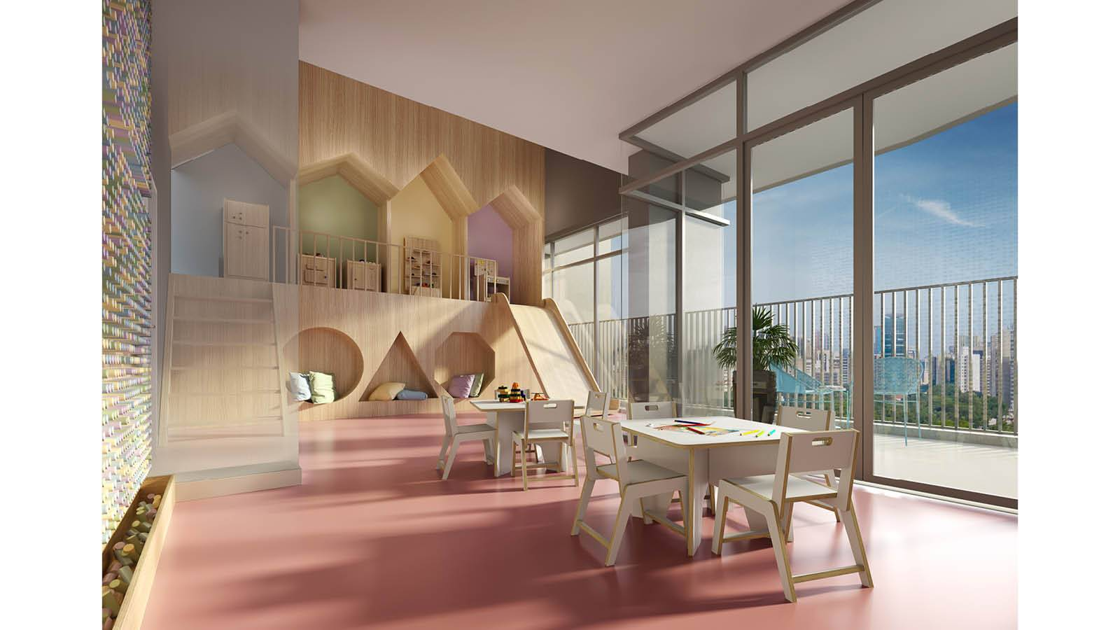 KIDS SPACE - Ventura Pinheiros - SPOL Architects