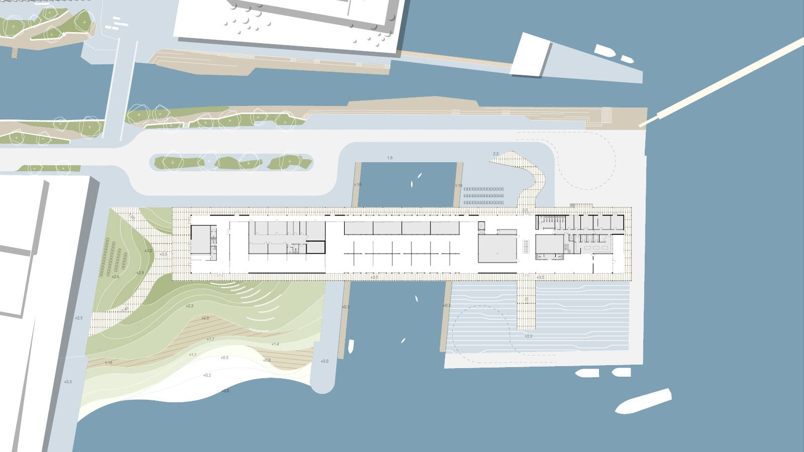 SITE PLAN - Sukkerbiten Photo gallery - SPOL Architects