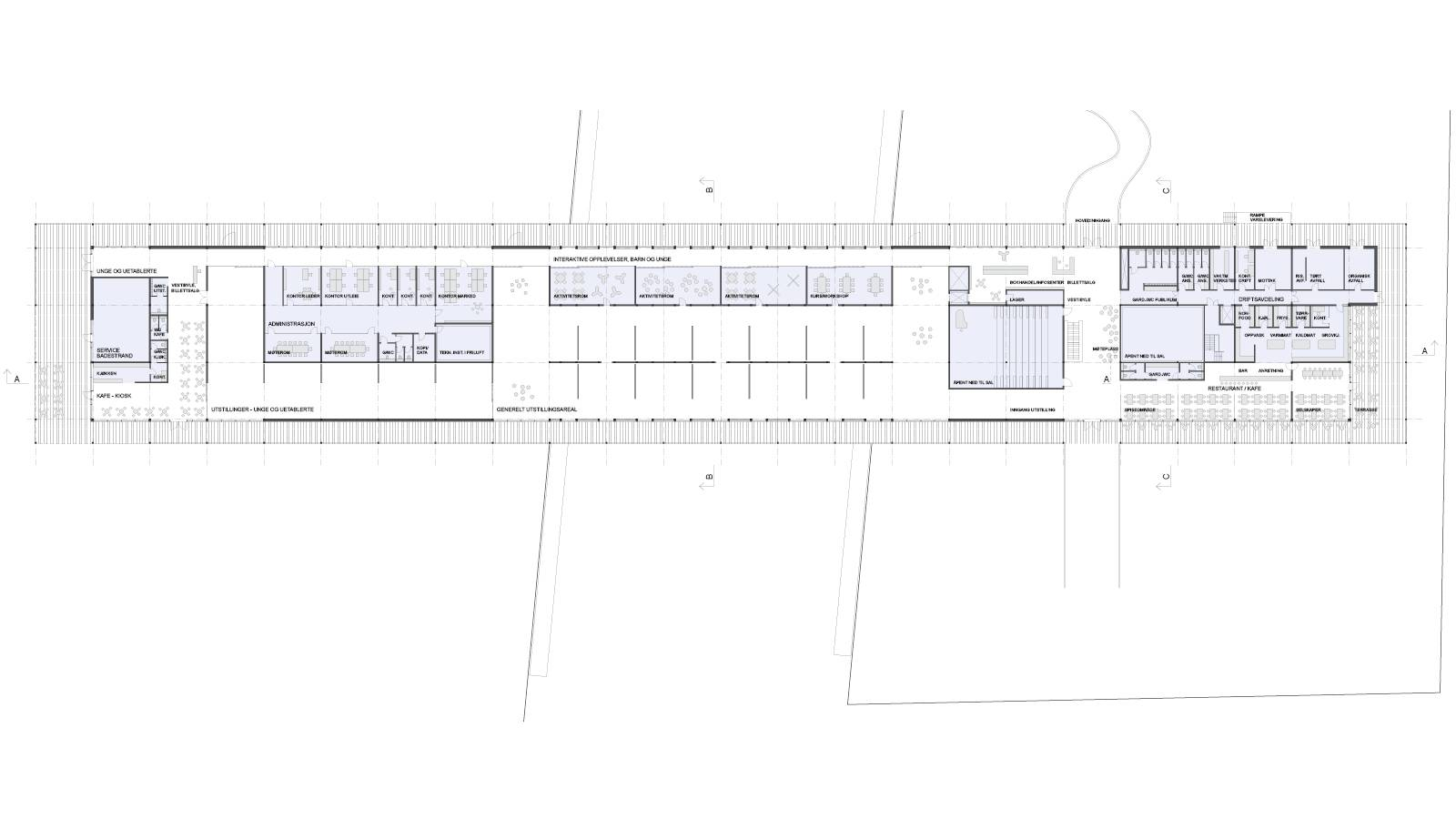 GROUND FLOOR PLAN - Sukkerbiten Photo gallery - SPOL Architects